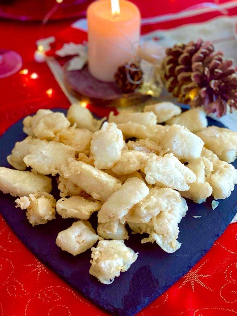 Baccalà in tempura